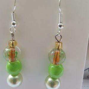 💚💚 Ga Ga for Green, // Statement Earrings// 💚💚